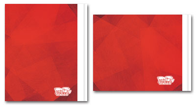 Red Back Cover Design