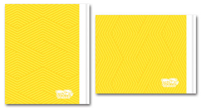 Yellow Back Cover Design