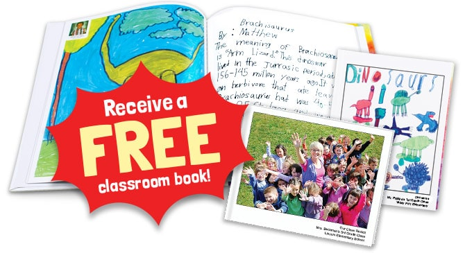 FREE  Hardcover  Book for Your Classroom