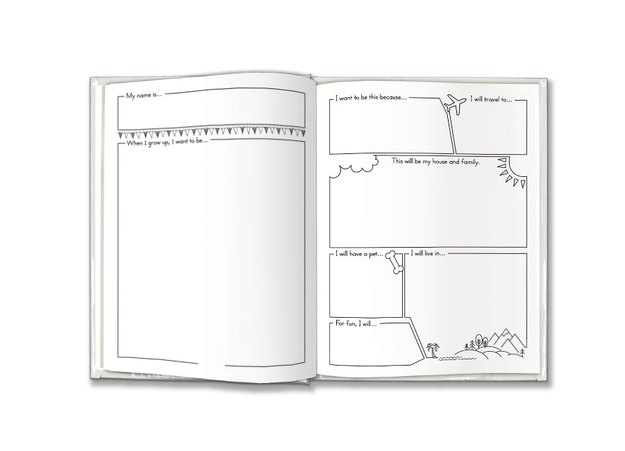 when i grow up writing template pdf